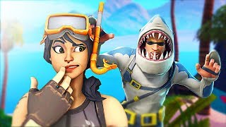 "SHARK ATTACK SNIPER ""NEW"" Fortnite Battle Royale Gamemode!"