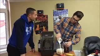 Денис Минин и Street Workout Pro готовят протеиновый коктейль!