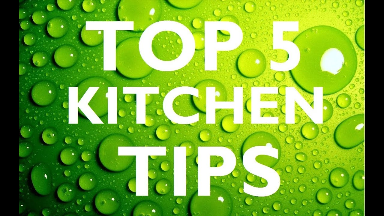 TOP 5 Useful KITCHEN TIPS   YouTube