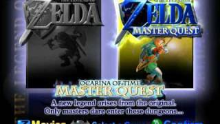 Zelda Ocarina of Time - Master Quest Title Music