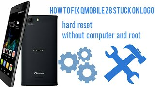 How to fix qmobile stuck on logo |noir|by ideal cracking