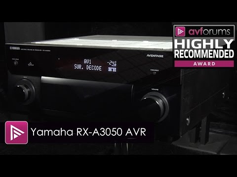 Yamaha RX-A3050 9 2 AV Receiver Review | AVForums