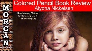 coloured pencil painting portraits -  Alyona Nickelsen - review Jason Morgan wildlife art