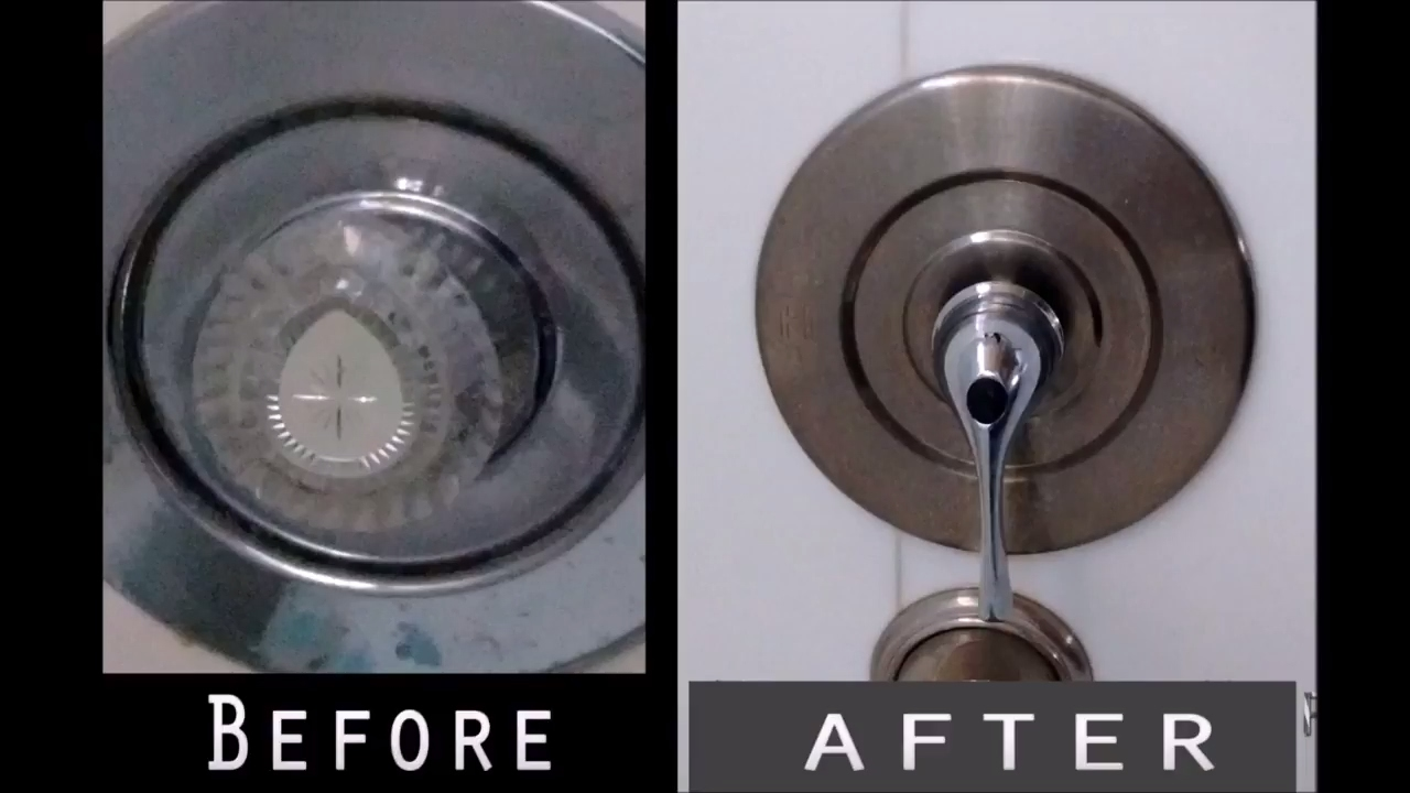 Replace Shower / Bathtub Handle Using an Extender - YouTube