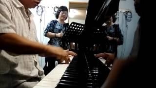 傳統鋼琴酒吧伴奏,台語老歌,孤女的願望,(春池音樂工作室)。