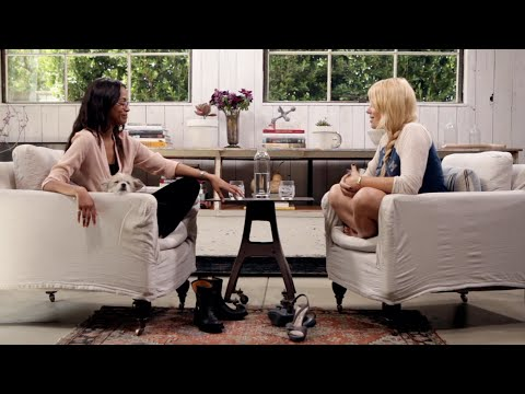 Zoe Saldana  The Conversation With Amanda de Cadenet  LStudio created by Lexus