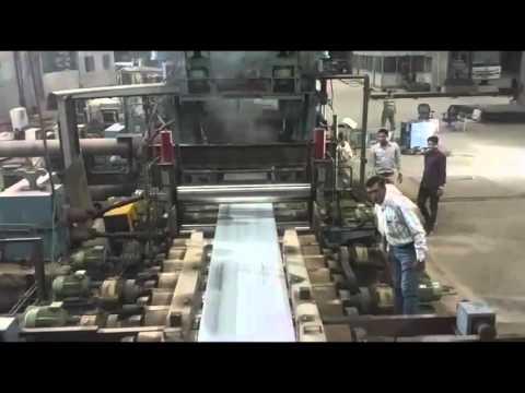 Aluminum hot rolling