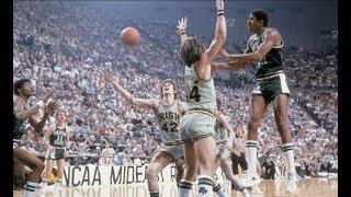 Magic Johnson - Michigan State Highlights