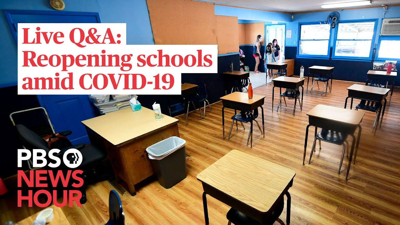 Your questions on reopening schools amid COVID-19