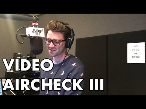 Video Aircheck III - Johnny Novak - JUMP! 106.9