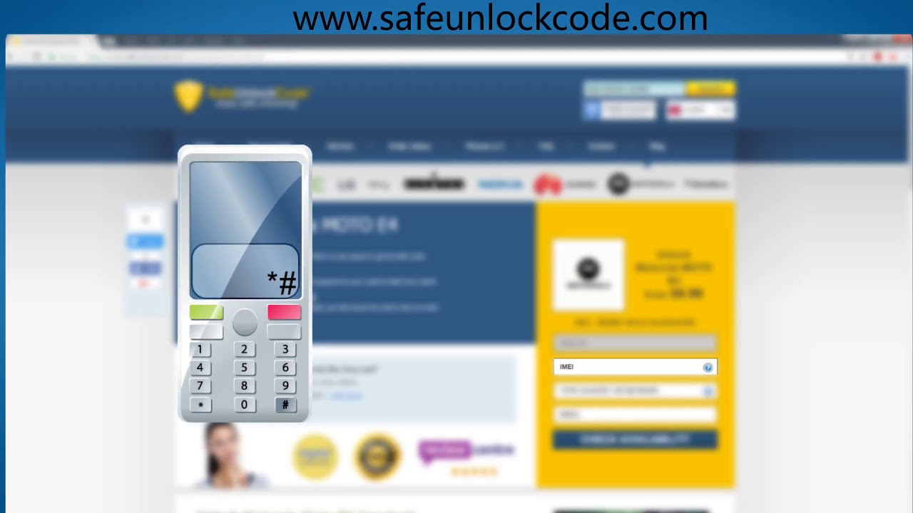 How To Unlock Motorola Moto E4 / Moto E4 Plus By Code - Safeunlockcode   Safeunlockcode 01:54 HD