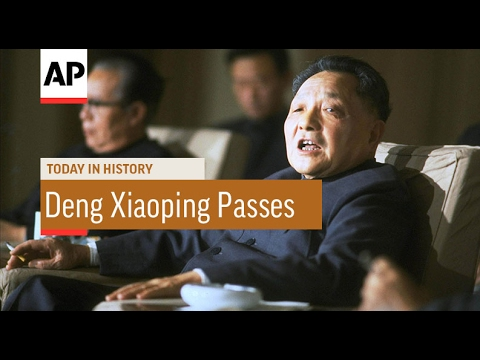 Deng Xiapong Passes - 1997 | Today In History | 19 Feb 17