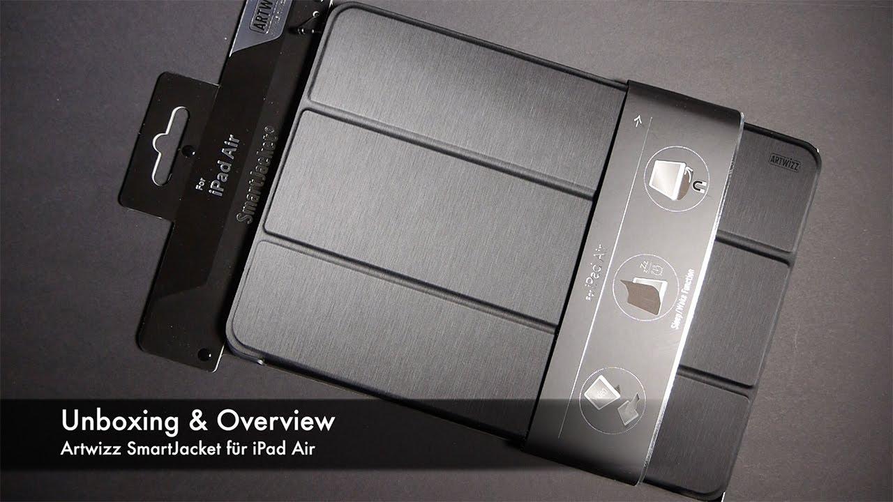 artwizz ipad air 2  Unboxing & Overview Artwizz SmartJacket für iPad Air - YouTube