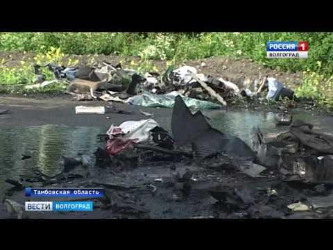 В Тамбовской области произошло смертельное ДТП с участием волгоградской машины