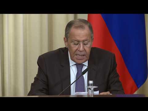 Пресс-конференция С.Лаврова и