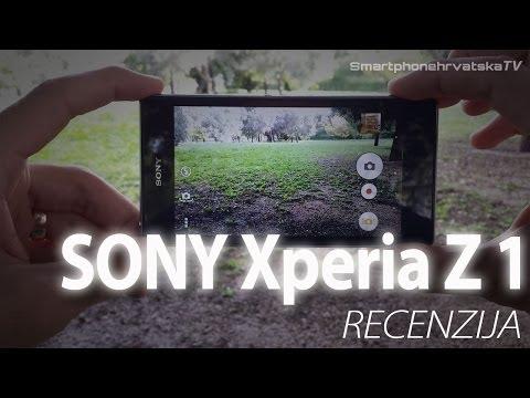 Sony Xperia Z1 video recenzija