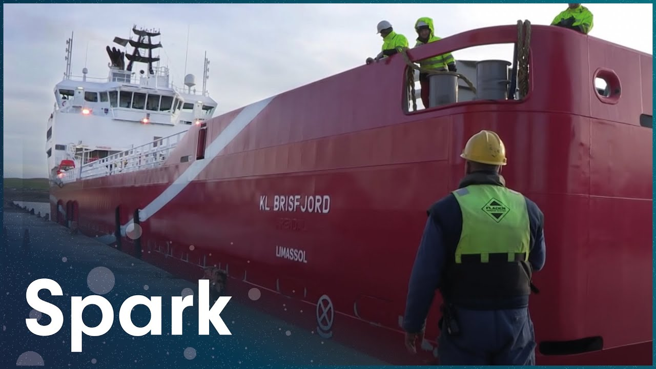 The Northlink Ferry That Connects The Scottish Isles | The Harbour | Spark