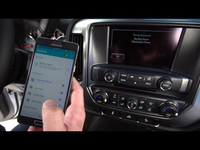 Chevrolet MyLink - How to Connect Android to Bluetooth (8-inch Display)