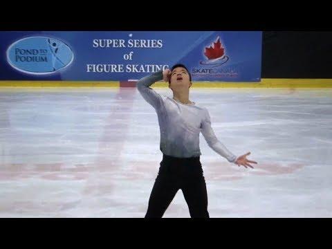 "2018 Senior Men Skate Canada B.C/YK Sectional Champion, ""Inception"""