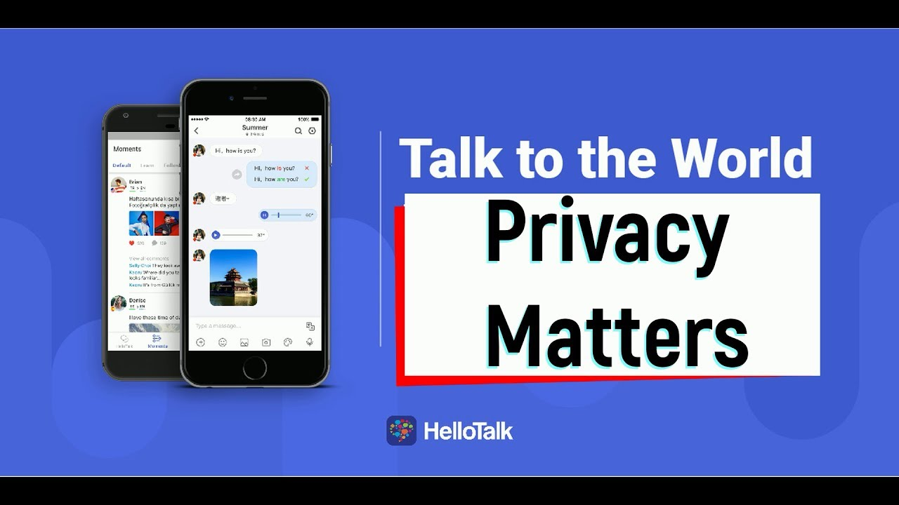 How to set your privacy on HelloTalk