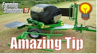 Cheap Silage Production | Amazing Tip | Courseplay | Farming Simulator 2015 | Gameplay