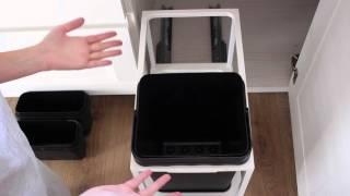 Домашний VLOG. Обзор контейнера для мусора IKEA. Спасибо за комментарии)