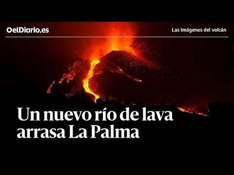 🌋 Tres semanas de erupción volcánica: un nuevo río de lava arrasa la isla de La Palma