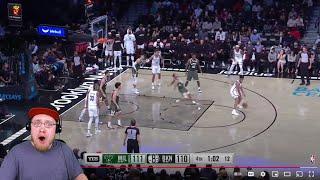CAM THOMAS DROPPED HIM! Reacting To Milwaukee Bucks vs Brooklyn Nets