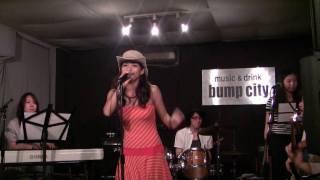 2009.6.28 大久保バンプシティにて。 5曲目。アンジェラ・アキのカバー...