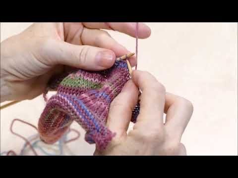 Youtube-Tutorial: Relief 2 - Strickanleitung Die Blume