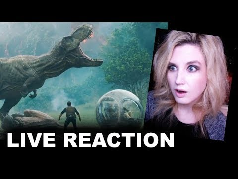 Jurassic World 2 Fallen Kingdom Trailer REACTION
