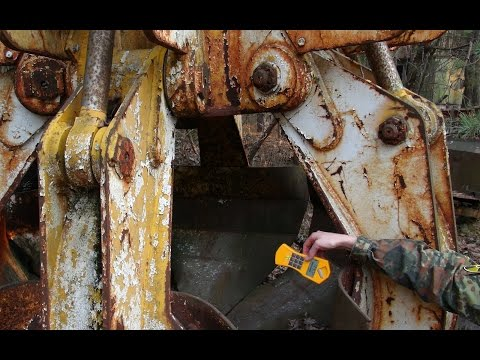 the highly radioactive Chernobyl graphite crane claw and hot particles