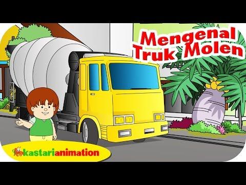 Mengenal Truk Molen bersama ella ello | Kastari Animation Official