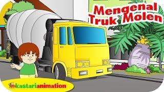 Mengenal Truk Molen bersama ella ello   Kastari Animation Official