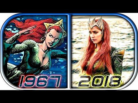 EVOLUTION of MERA in Movies Cartoons TV (1967-2018) Aquaman 2018 movie trailer full movie mera scene