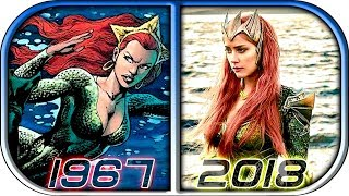 EVOLUTION of MERA in Movies Cartoons TV (1967-2018) Aquaman 2018 movie trailer full movie mera scene