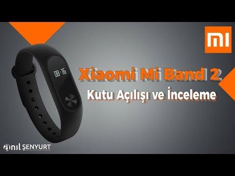 Xiaomi Mi Band 2 Akıllı Bileklik Kutu Açılışı Ve Kurulumu (İnceleme)