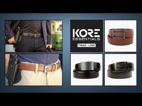 Kore Essentials Trakline  Belts - The Last Belt You'll Ever Buy