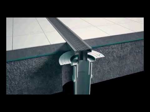 How To Install A Stainless Steel Linear Shower Grate Youtube