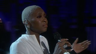 "Cynthia Erivo Performs ""Can You Feel the Love Tonight"" For The 2019 Tony Awards In Memoriam"