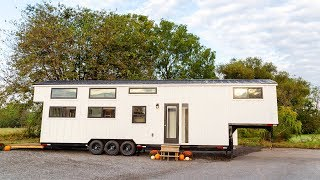 The Gooseneck A Unique Trailer Requires A Full-custom Approach | Living Design For A Tiny House