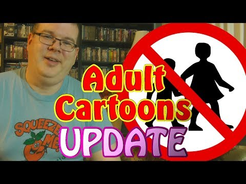 ADULT Cartoons DVD/Blu-ray UPDATE