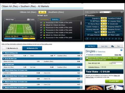 My Football Betting System - Over 0.5 Goals Before Half Time