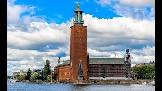 РАТУША СТОКГОЛЬМА. МУЗЕЙ АРМИИ. Stockholm City Hall. Swedish Army Museum, Stockholm