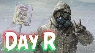 day R забрел в радиоактивные БОЛТА ! В День Р не нужно чинить ТРАНСПОРТ ! #10