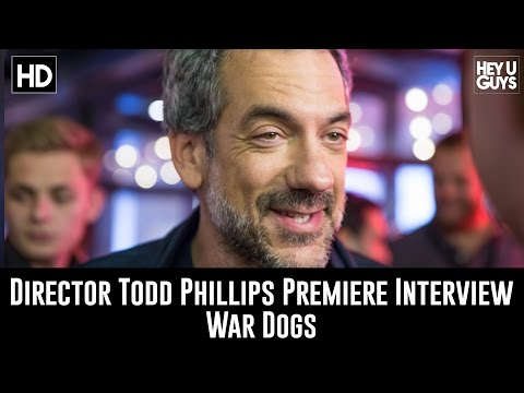 Director Todd Phillips Premiere Interview - Wars Dogs