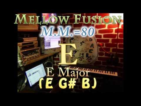 e major (e g# b) mellow fusion - m.m.=80 - one chord vamp