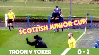 Troon Juniors V Yoker | Fitba Shorts