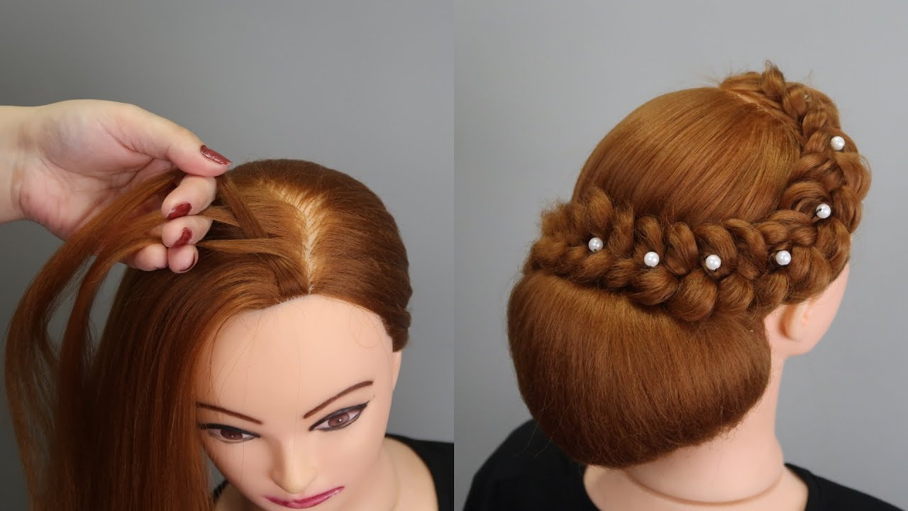 New French Bun Hairstyle Step By Step ✨ Perfect French Bun Hairstyles for Prom, Weddings