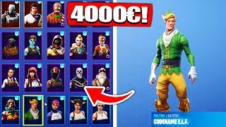 Fortnite Season 1 ELF & Ghoul Trooper Skin Account get from viewers! - Fortnite Battle Royale
